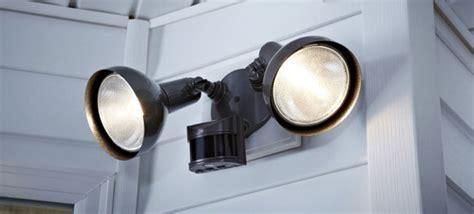 motion detector light install a motion detector