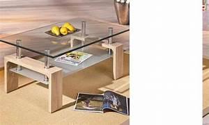Table Basse Verre Bois : table basse 2 plateaux verre et bois timeo 3 ~ Teatrodelosmanantiales.com Idées de Décoration