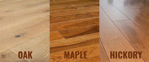 oak flooring vs maple and hickory flooring homeflooringpros com