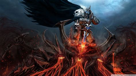 lich king diablo ultra hd desktop background wallpaper