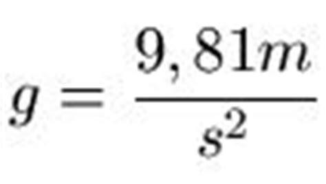 freier fall physik