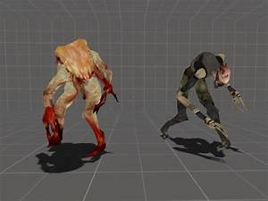 Zombie Assasin and Alien Assasin