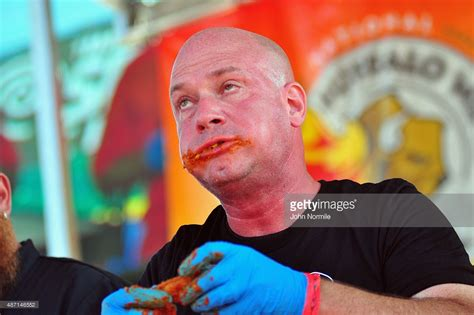 Buffalo Wing Eating Contest Held In Buffalo, New York