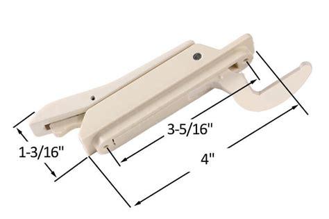 locking handle single point  truth window hardware