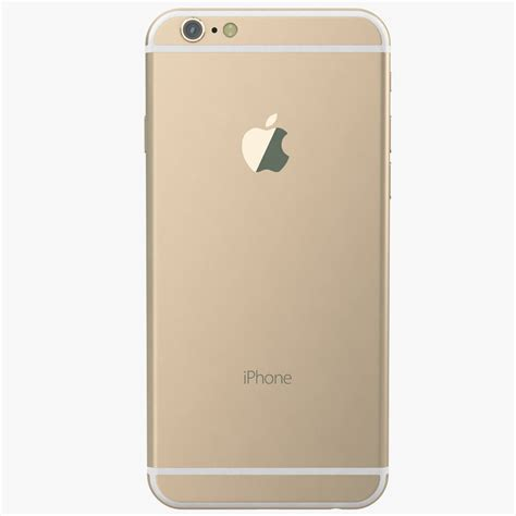 iphone 6 gold apple iphone 6 gold 3d model max obj cgtrader