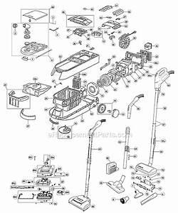 Oreck Dtx1300 Parts List And Diagram   Ereplacementparts Com