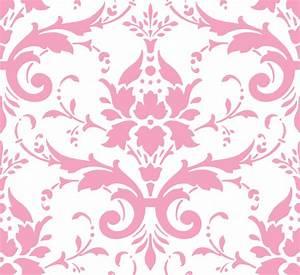 Pink Damask Clip Art at Clker com - vector clip art online