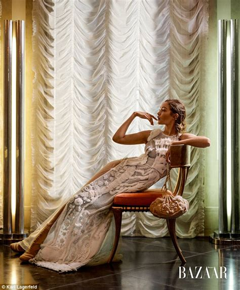 Gigi Hadid poses in beautiful couture gowns photographed ...