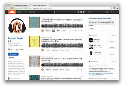 Soundcloud Interface Profile Screenshots Provides Cdm Digital