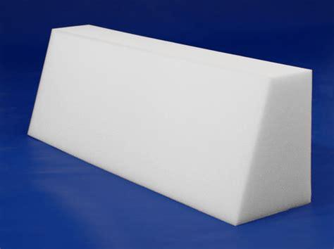 shredded memory foam pillow back bolster foam by mail