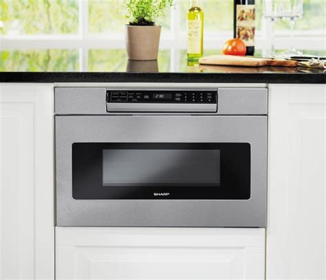 Sharp SMD3070AS 30 Inch Microwave Drawer with 1.2 cu. ft