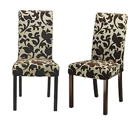 floral parsons chairs look 4 less