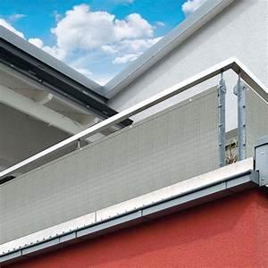 sichtschutz balkon stoff grau die neueste innovation der With markise balkon mit tapeten schwarz grau muster