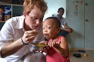 Enabled by your help to feed hungry and neglected children ...