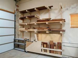 Dust Collection, Lumber Rack, and Cabinets - The Wood