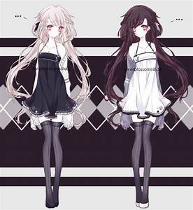 Black And White Twins by silverblossoms on DeviantArt