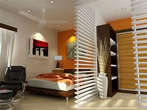 30 small bedroom interior designs created to enlargen your for Small space design ideas
