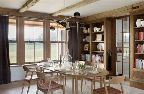 Cool Dining Room Light Fixtures by La D 233 Co Campagne Chic S Invite Dans La Salle 224 Manger Ideeco