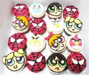 Cute Cartoon Cupcakes