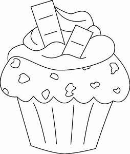 Imágenes para colorear de cupcakes Colorear imágenes