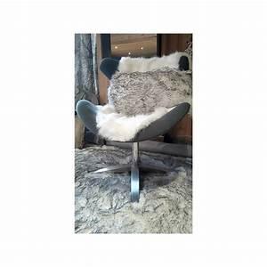 Tapis Fourrure Gris : tapis fourrure blanc m ch gris ~ Teatrodelosmanantiales.com Idées de Décoration