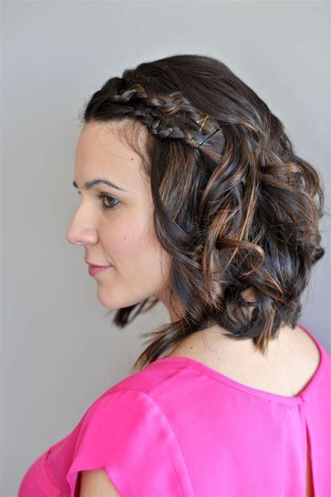 Easy Braids For Short Hair   Macrame Braid