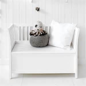 White Bench With Storage by Oliver Furniture Kinder Sitzbank Mit Truhe Seaside Wei 223