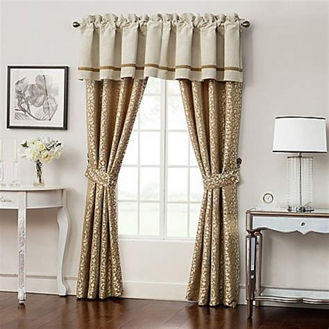 Pole Top Drapes - waterford 174 ansonia pole top window curtain panels and