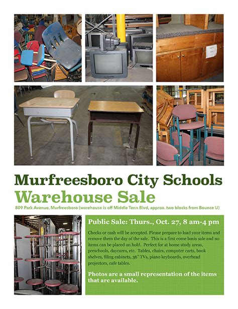 mcs public warehouse sale murfreesboro city schools murfreesboro