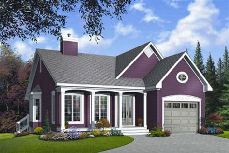 Country 2 Beds 1 Baths 1191 Sq/Ft Plan #23 785 Front