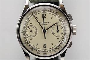 1938 Patek Philippe Chronograph Ref 130 Watch For Sale