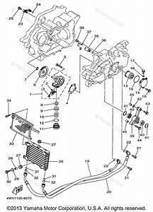 Yamaha Atv 1998 Oem Parts Diagram For Oil Pump