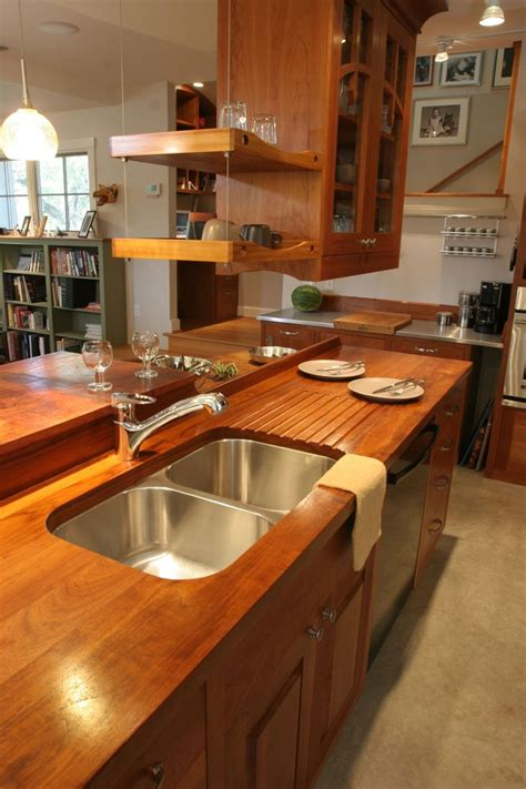 custom wood countertops images  pinterest