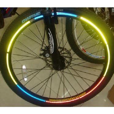 jual health care car bicycle wheel reflective sticker stiker roda sepeda 8