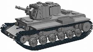Lego Tank Kv-1- Instructions
