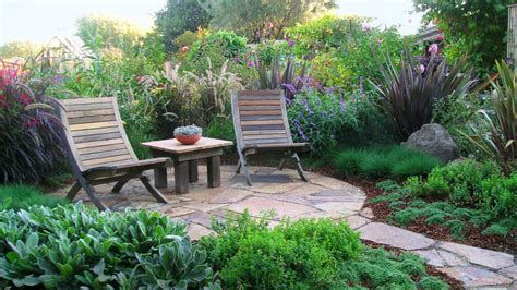 Outdoor Patio Landscaping by Patio Ideas And Designs Sunset Magazine