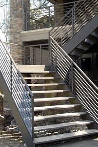 Curved Metal Stair Railing