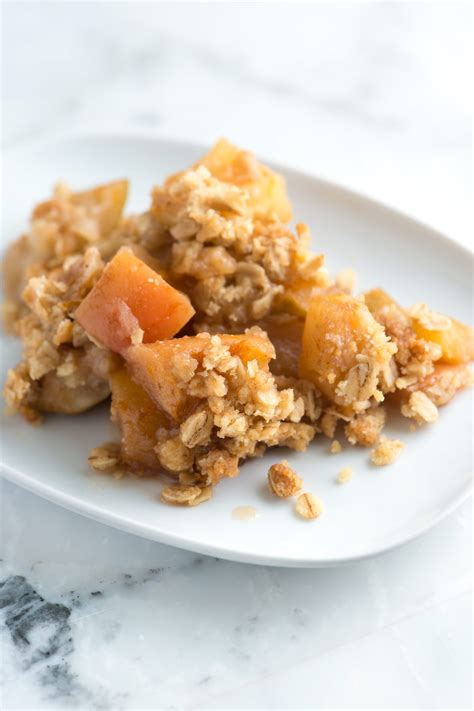 and easy apple recipes easy apple crisp recipe with oats