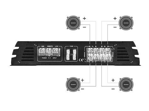 crunch gpx 1000 4 crunch gpx1000 4 wzmacniacz 4 kanałowy sklep autoradex