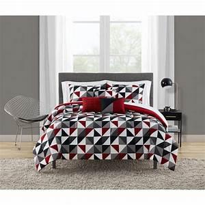 Mainstays, Geometric, 10, Comforter, Sheets