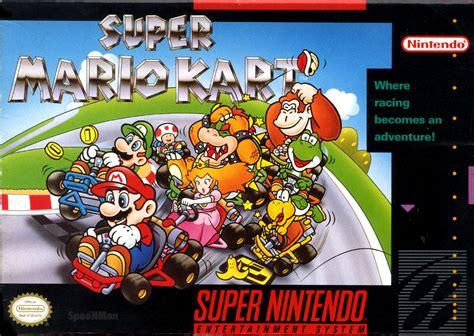 Superphillip Central Super Mario Kart Snes Wii U Vc