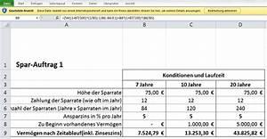 Zinsfuß Berechnen : zinsen mit excel berechnen chip ~ Themetempest.com Abrechnung