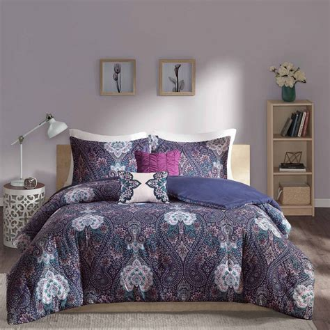 blue and purple comforter sets purple and blue bedding sets bedding decor ideas