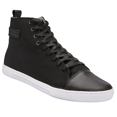 android homme shoes android homme craft hi top shoes in black for lyst