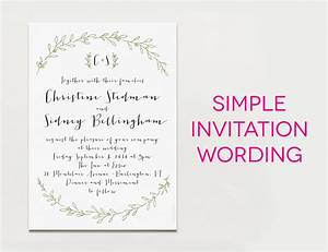 Tips easy to create wedding invites wording ideas with for Wedding invitation video creator free