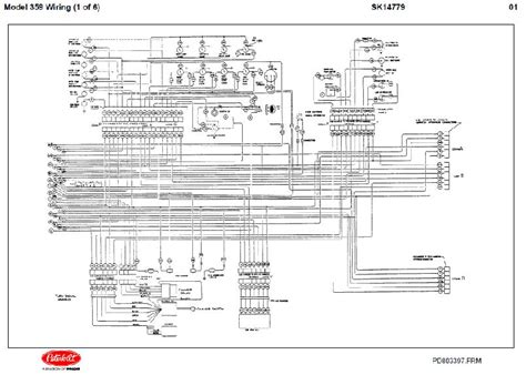 detroit diesel ddec ii engine electrical wiring diagrams