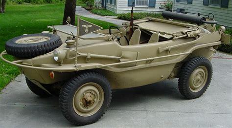 hibious car german schwimmwagen amphibious vehicle