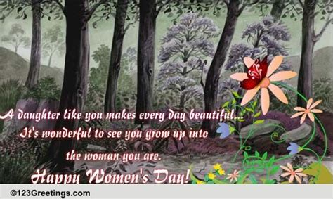 womens day    daughter  family ecards greeting cards