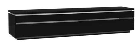 meuble cuisine laqué meuble tv electra laque noir noir brillant