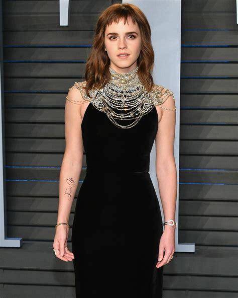 Emma Watson Et Son Tatouage En Soutien Au Mouvement Time's
